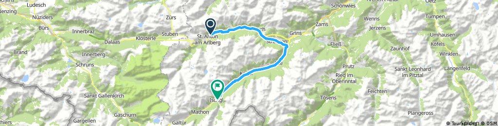 2017 Day 3 St Anton - Ischgl (easy)