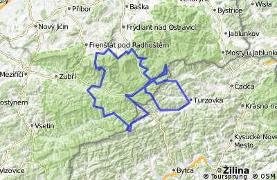 Beskyd Tour silnice 2017