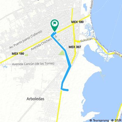 Ruta Autódromo TRX Cancun