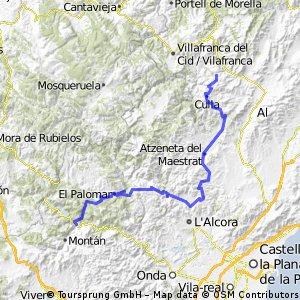 VCV-Norte-4 Benasal - Montanejos