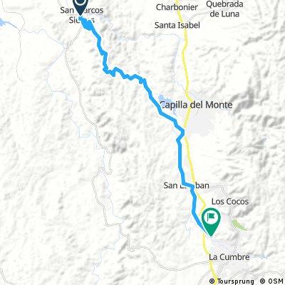 La Cumbre a San Marcos Sierras