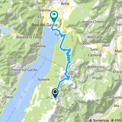 3. Trasa Malcesine - Mt. Baldo - Riva del Garda