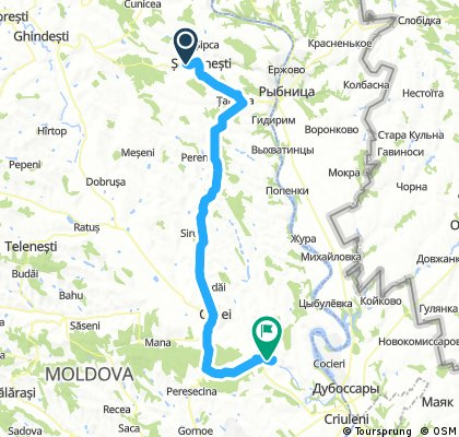 From Soldanesti to Butuceni