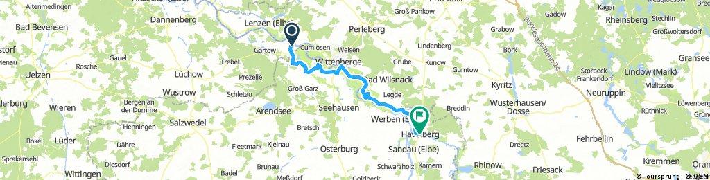 Elbe 17 - 6. Etappe