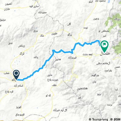08b - Mijane - Khalkhal (114 km, 2150 m)