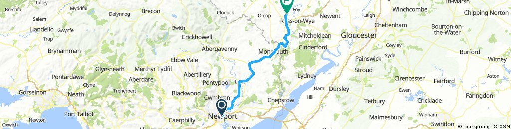 Newport - Ross-on-Wye