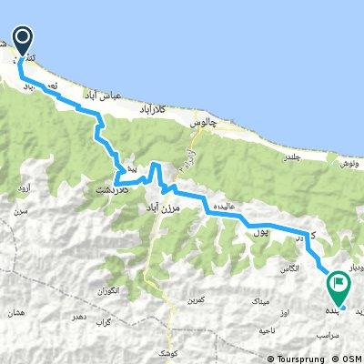 16c - Tonekabon - Baladeh (187 km, 4860 m)