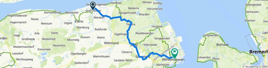 Neuharlingersiel - Wilhelmshaven
