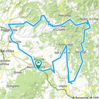 Monteriggioni ......... Fonte Rutoli