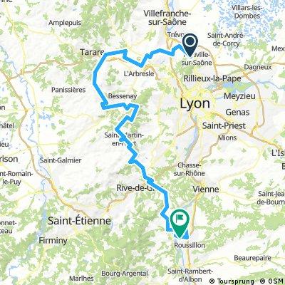 Rhône Alpes étape 3