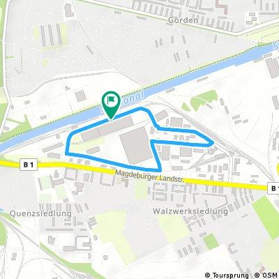 """Strecke 2017: Rundstreckenrennen - """"Rund um die MEBRA"""""""