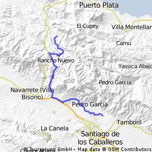 Santiago -Las Lavas-Navarrete-Rio Grande , Boca de Rio Grande