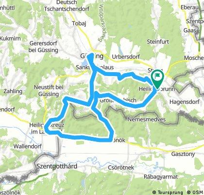 Heiligenbrunn Runde über Ungarn West