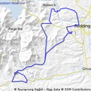 Placer - Keswick Dam Wednesday Night Route