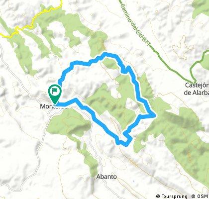 1ª Quedada trail Monterde ruta larga
