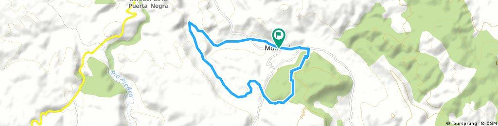 1ª Quedada trail Monterde ruta corta