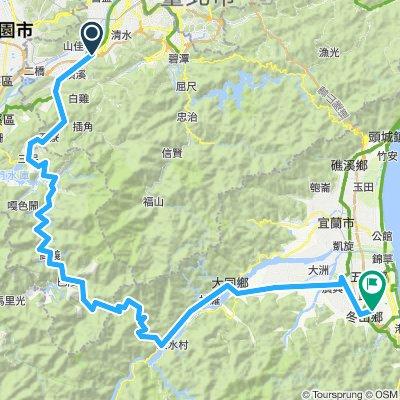 170429_頂埔站→北橫→羅東→冬山