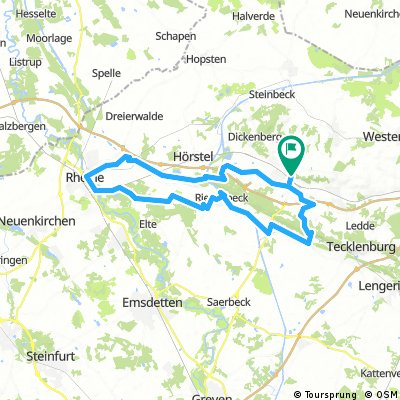 Ibbenbüren-gravenhorst-DEK-Rheine-Riesenbeck-Brochterbeck-Ibbenbüren