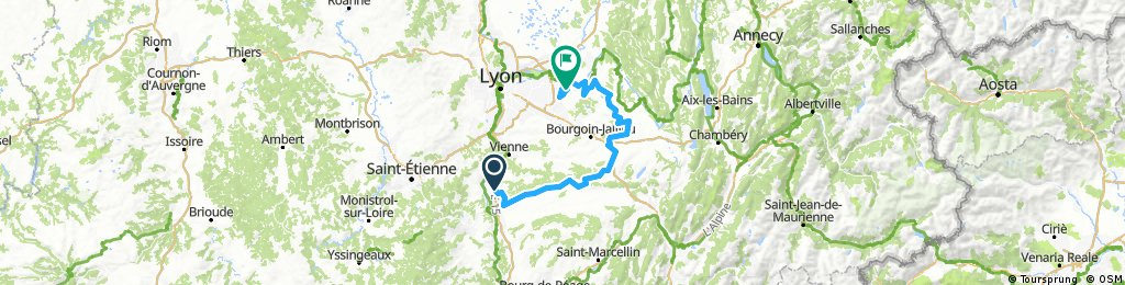 Rhône Alpes étape 4