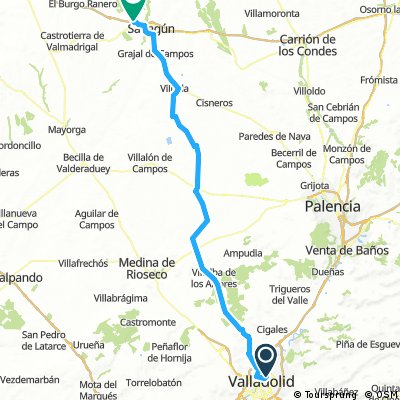 MTB - 1ª Etapa: Camino de Santiago desde Valladolid.