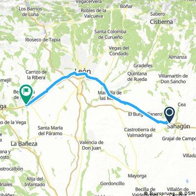 MTB - 2ª Etapa: Camino de Santiago desde Valladolid.