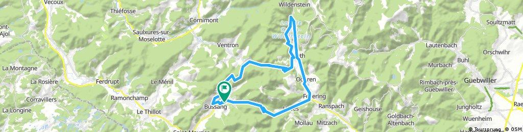 Verkenningsrit naar Lac de Kruth-Wildenstein