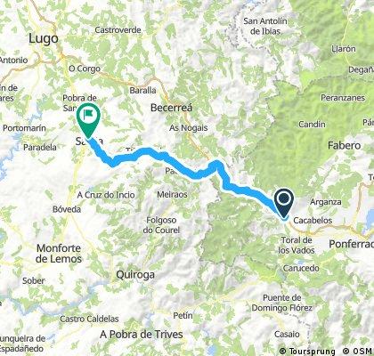 MTB - 4ª Etapa: Camino de Santiago desde Valladolid