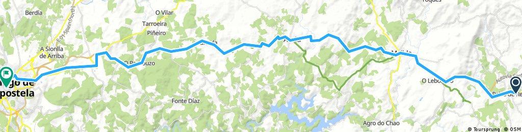 MTB - 6ª Etapa: Camino de Santiago desde Valladolid