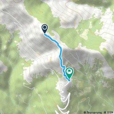Monte La Motta - Bodone (variante 1)