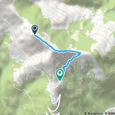 Monte La Motta - Bodone (variante 2)