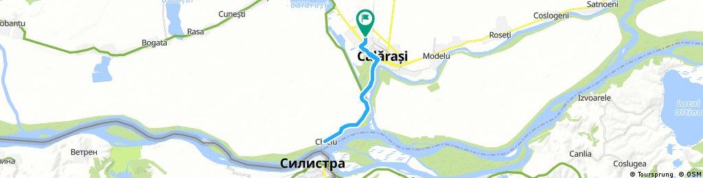 bike tour through Călărași