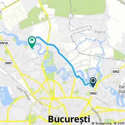 Quick bike tour through Bucharest