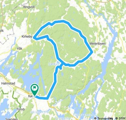 Mellomtur fra Råde i indre Østfold