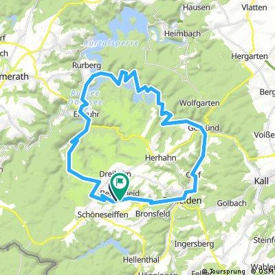 43km-Rundtour Berescheid-Urfttalsperre