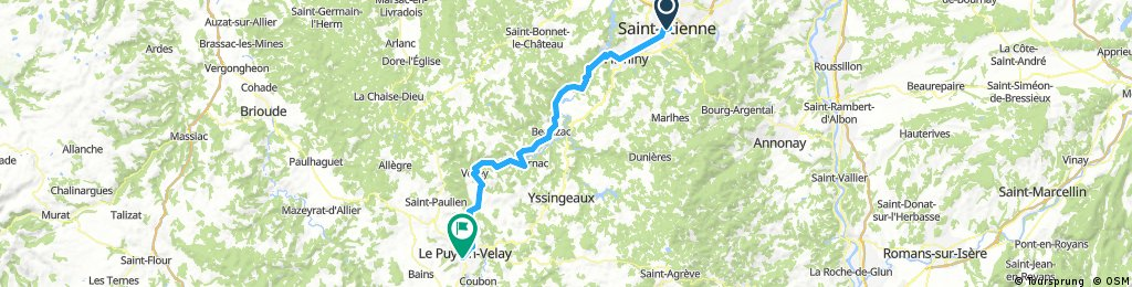 j.13 08.07.2016 St. Ettienne bis Le Puy