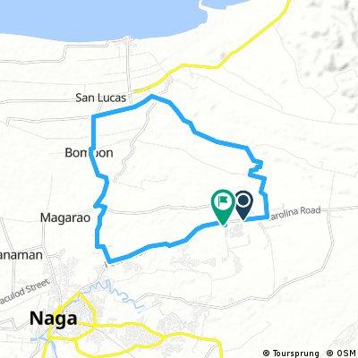 ride through Naga
