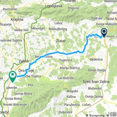 BRM 1000 km Sveta Nedelja 2017 - Leg 9