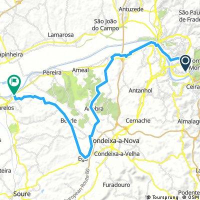 8.09 Day4 Coimbra-Ega-Alfarello- Train Leiria