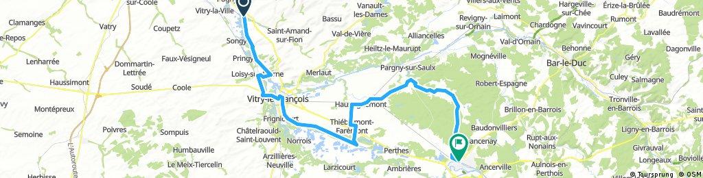 La Chaussée sur Marne - Saint-Dizier