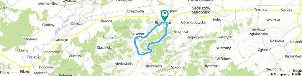 ride through Ropczyce