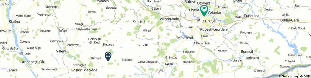 Bucuresti - Vartoapele (Rosiorii de Vede)
