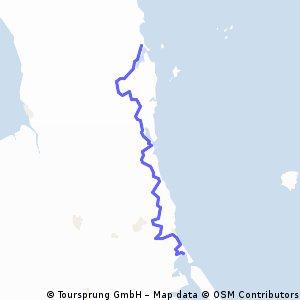 09-12-13 NZ 6.Etappe: Tairua-Whangamata-Waihi Beach-Athenree