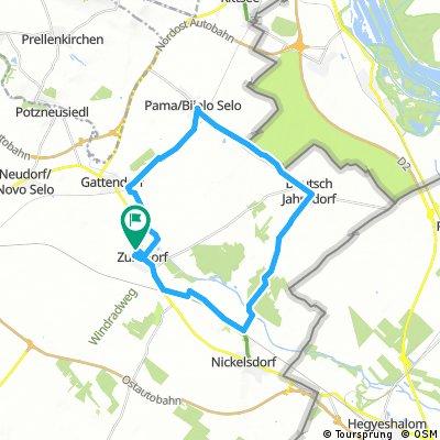 Zurndorf-Pama-Nickelsdorf-Zurndorf