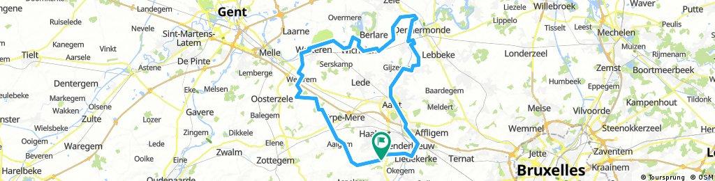 Langs Dender en Schelde