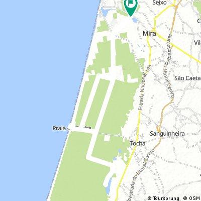 CLV J2 : plage Tocha Lagoa Vela