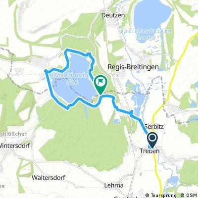 Treben -Haselbacher See und zurück