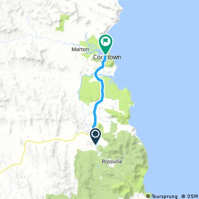 Lions Den to Cooktown