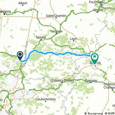 Pont sainte maxence - Compiegne - Reims