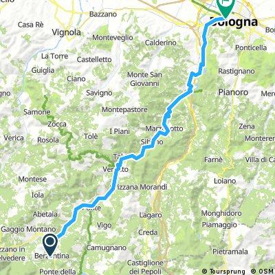 Porretta Terme - Bologna