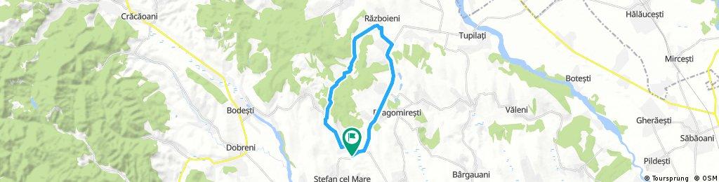 circuit Carligi - Valea Alba